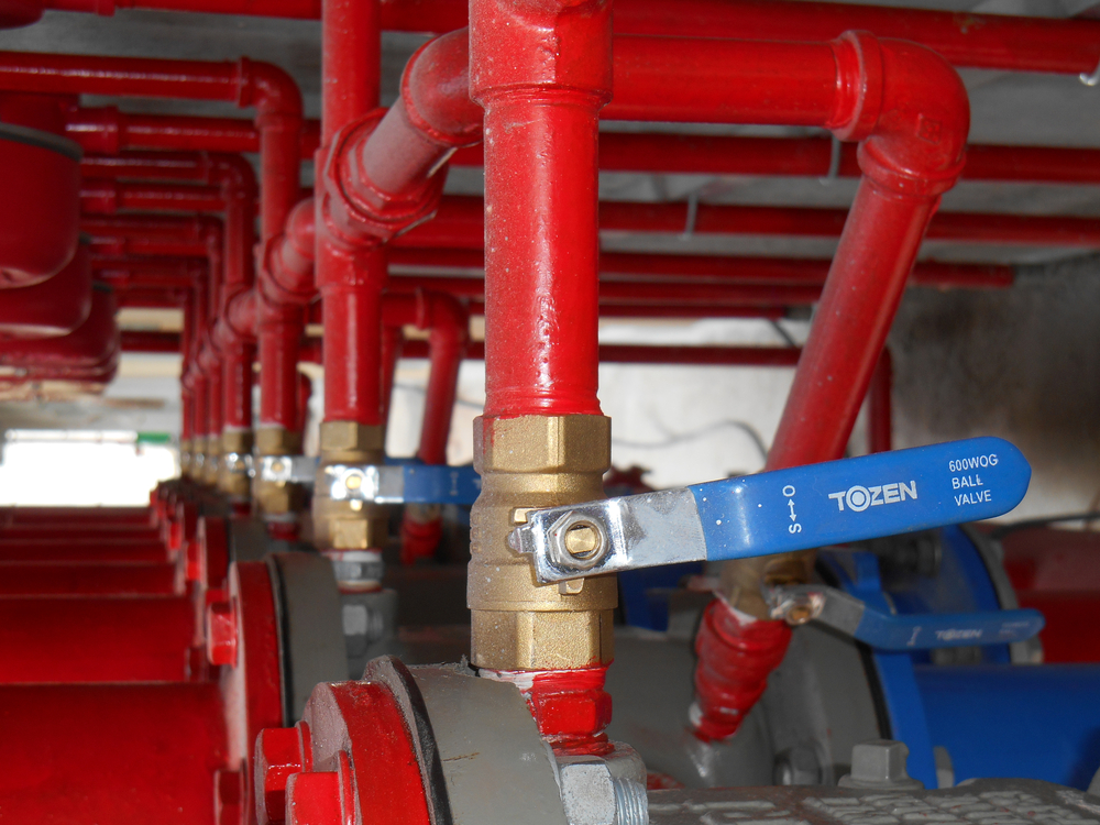 SS_Alarm valve system. It was part of the building fire fighting system which is control and supply water to the sprinkler