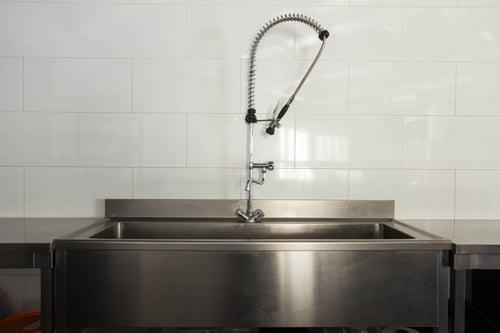 Commercial kitchen design for plumbing