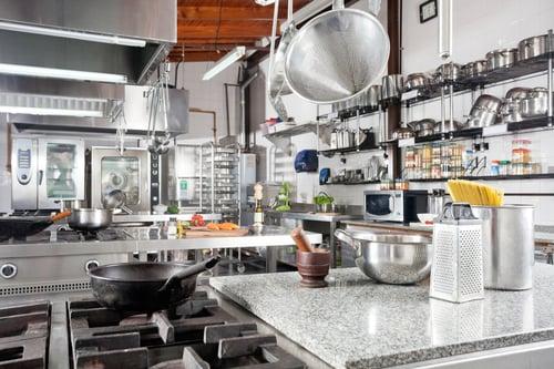Commercial kitchen storage