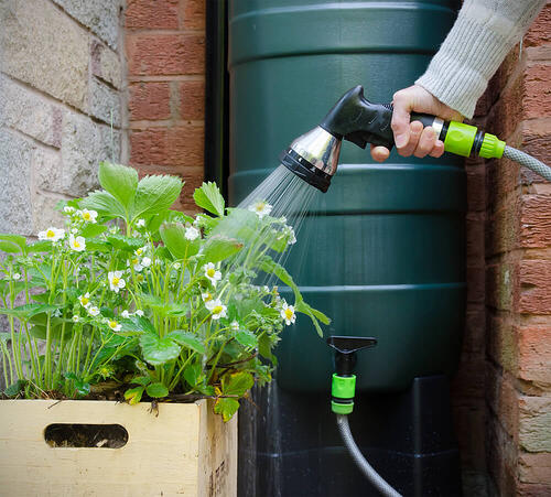 Benefits of rainwater harvesting - water on tap