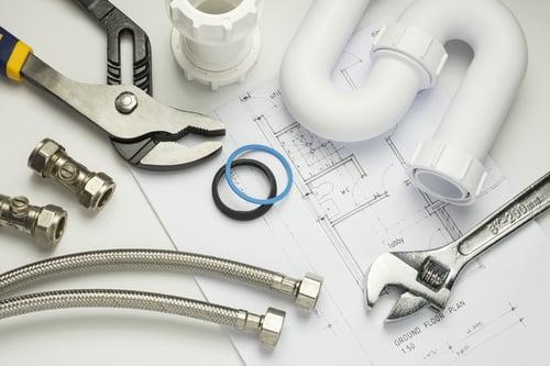 Sanitary system plumbing