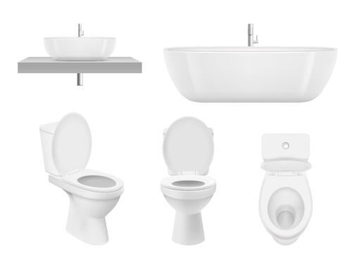 Sanitaryware for plumbing fixture schedule
