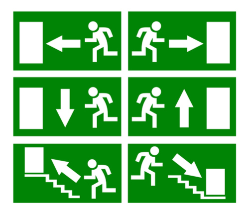Types of emergency lighting design