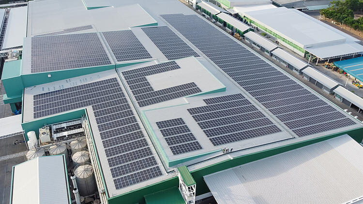 commercial solar roof