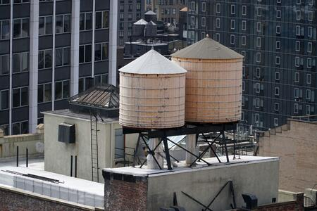 rooftop tank