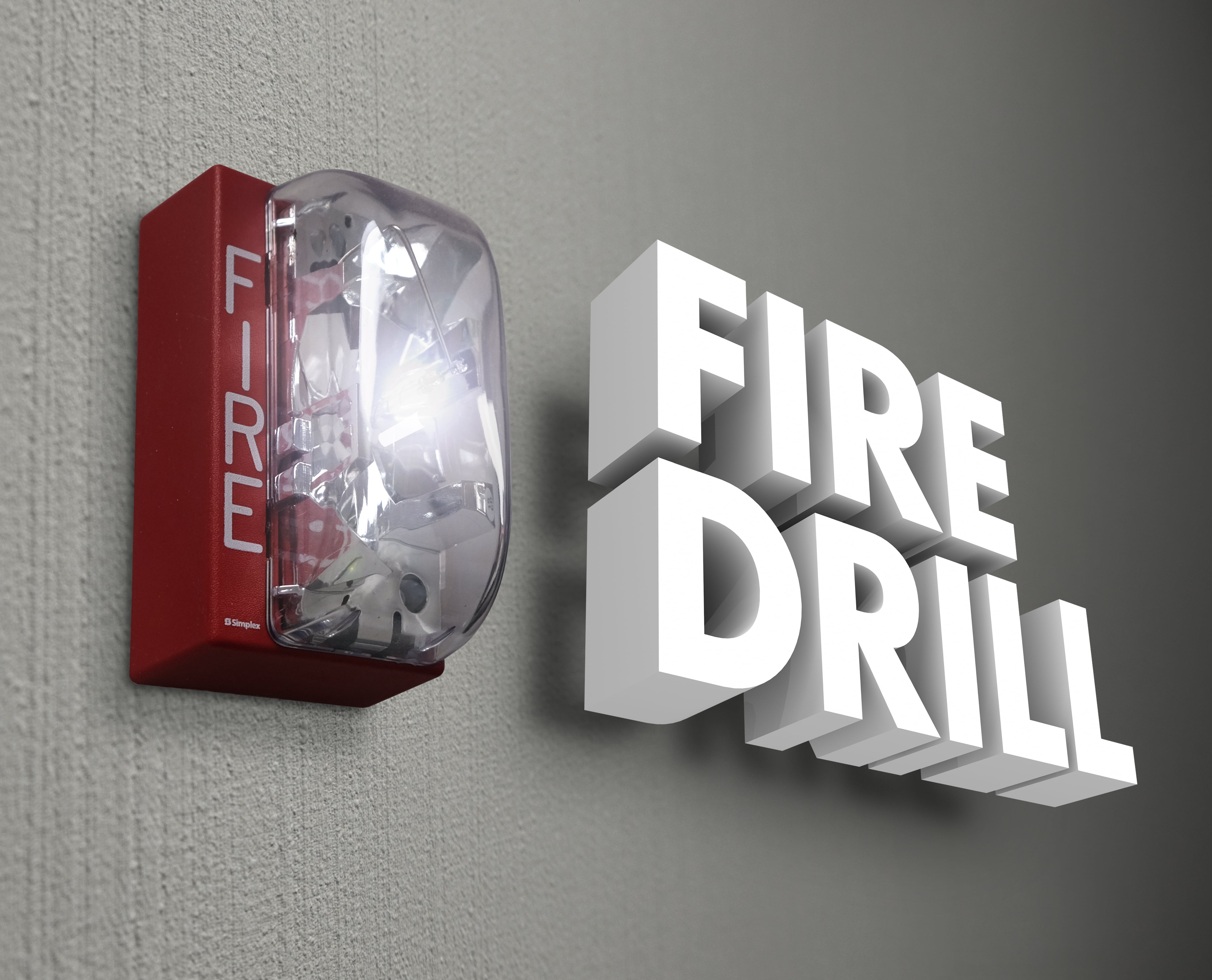 Fire drill systems