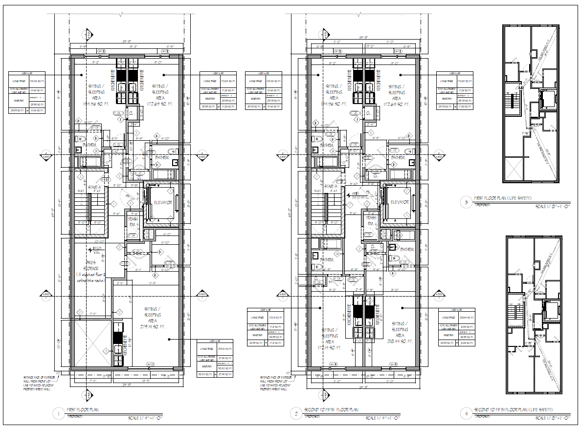 Mechanical COMcheck floor plan
