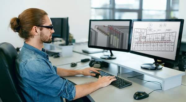 MEP designing in CAD