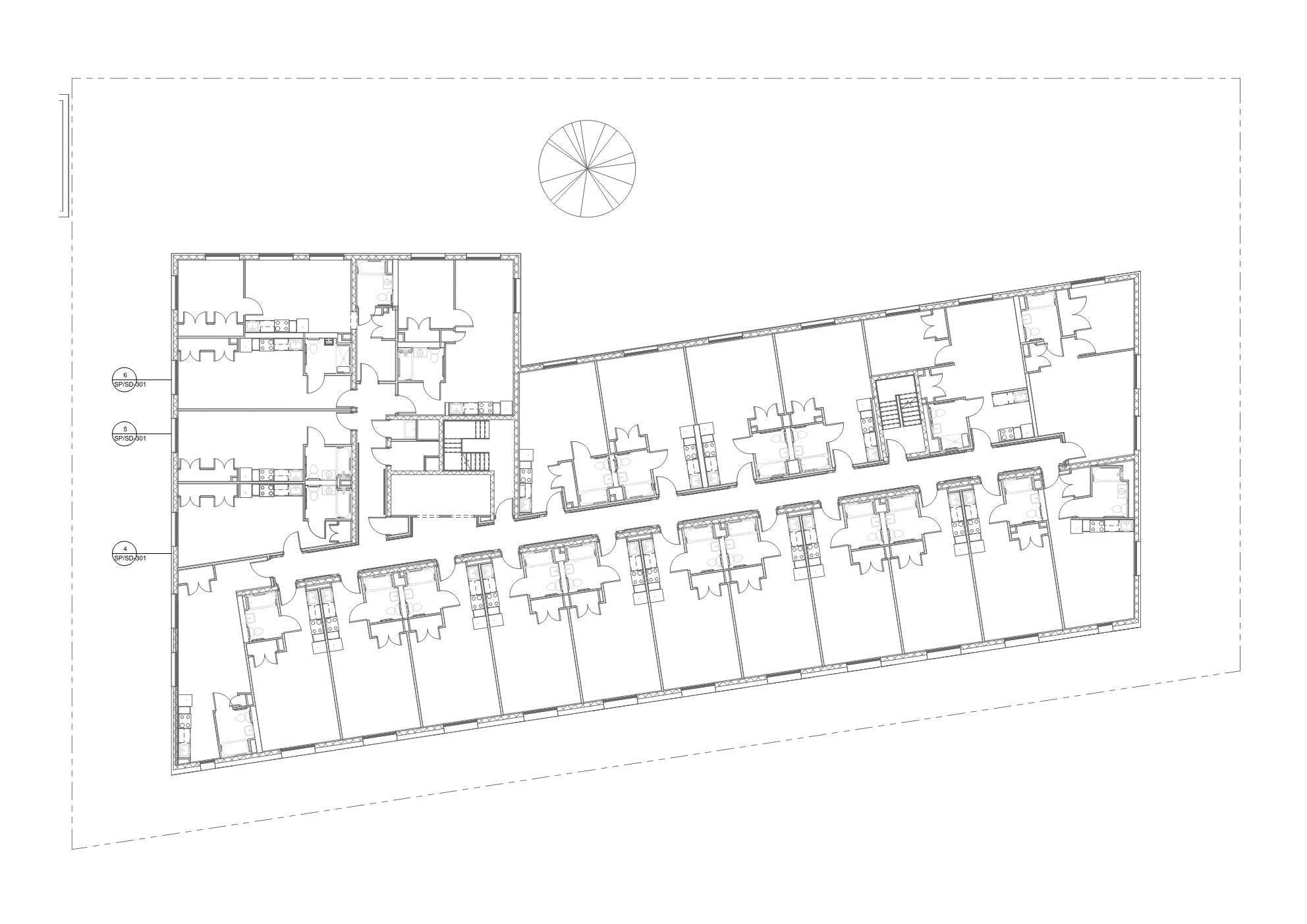 Empty floor plan