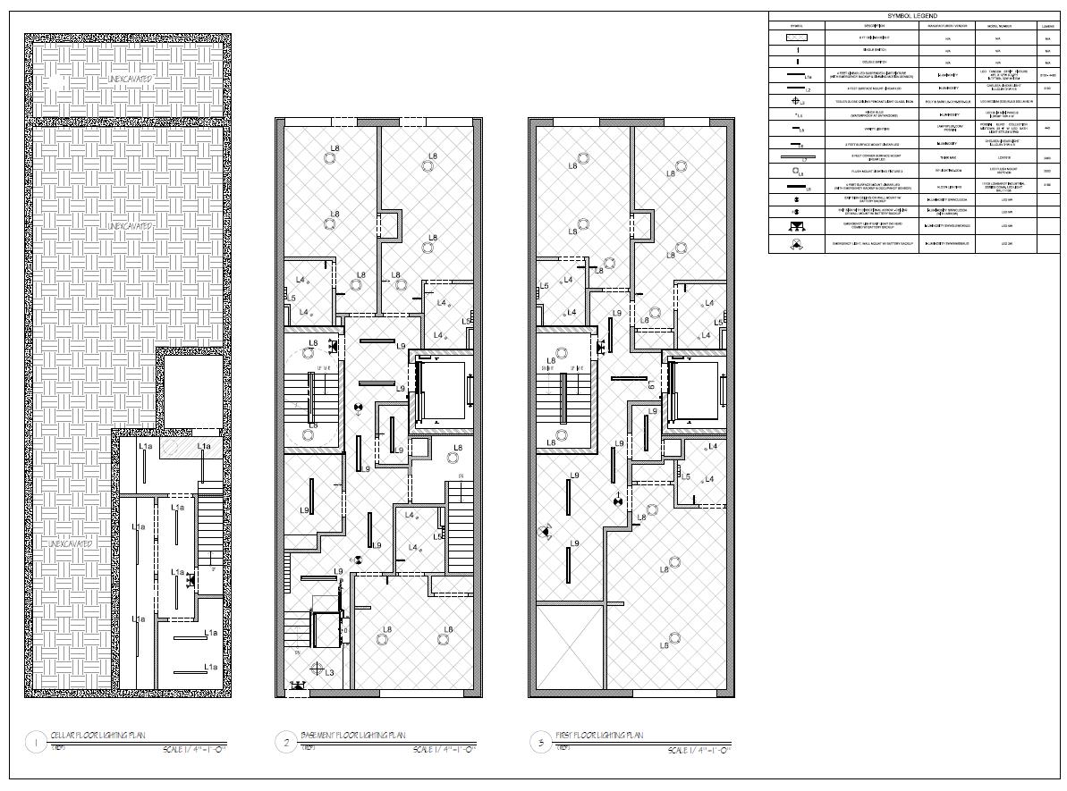 RCP floor plan