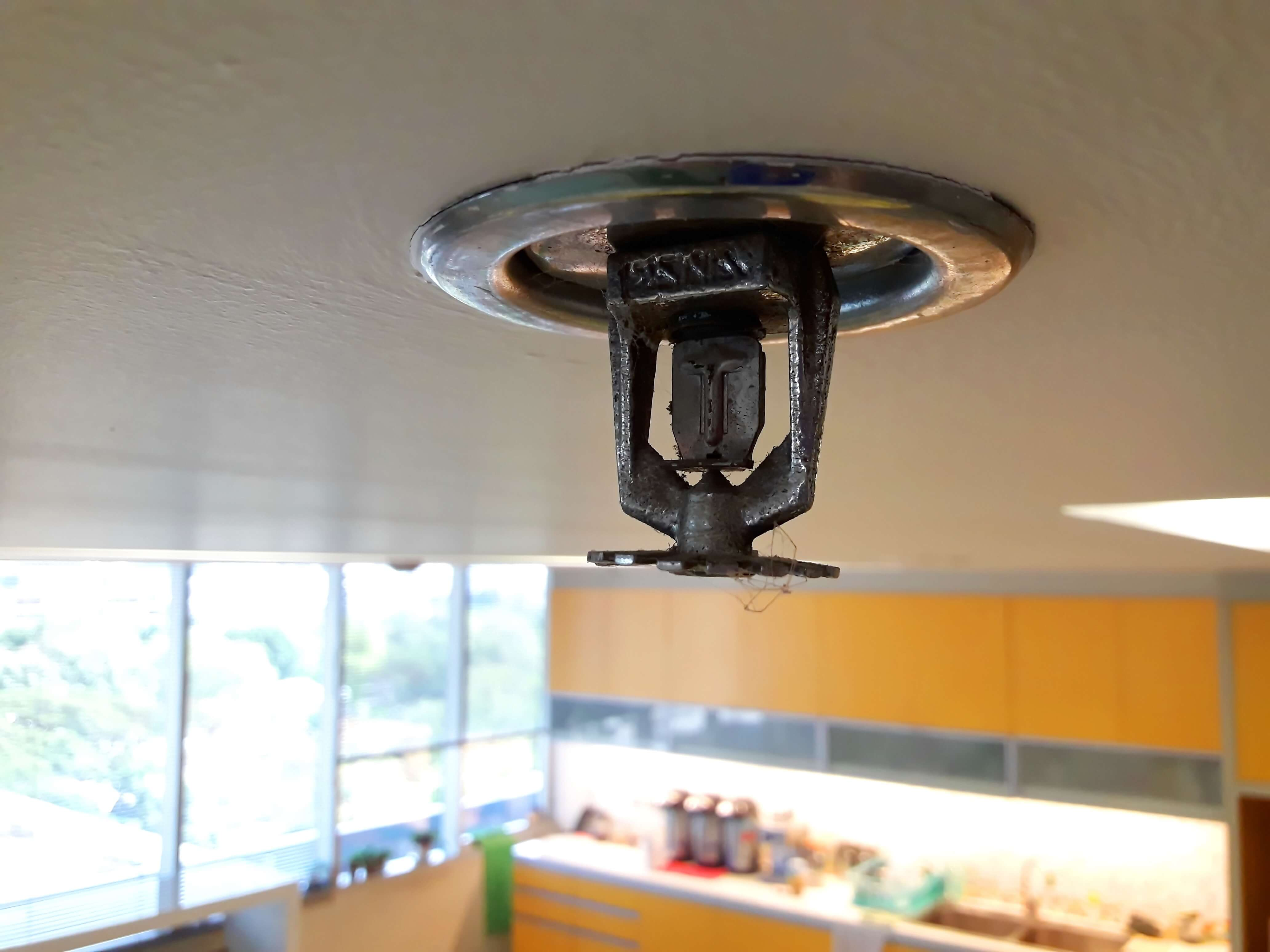 Wet Sprinkler Systems in Commercial Kitchens