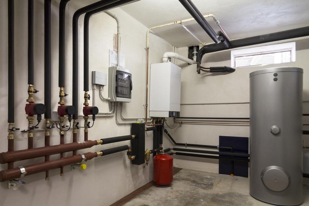 shutterstock_condensor boiler-boiler room